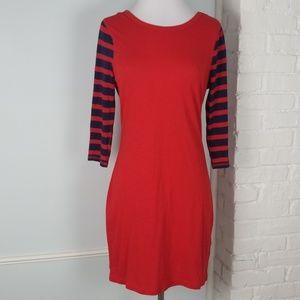 Express striped tee dress